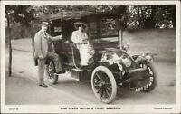 Actress Gertie Millar Lionel Monckton Early Car Automobile Real Photo Postcard