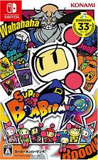 Super Bomberman R Asia Chinese/English/Japanese Subtitle Nintendo Switch NEW