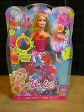 BARBIE DOLL---2 SONGS AND LIGHTS--2013 LOWER HER ARM TO LIGHT UP 5 AVAILABLE NEW