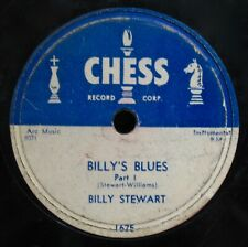 BILLY STEWART~Billy's Blues~Chicago Blues 78 From 1956-CHESS #1625