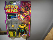 Iron Man Action Figure-Mandarin vf/nm on Card