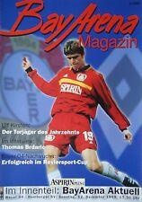 Programm 1999/00 Bayer 04 Leverkusen - Hamburger SV