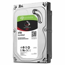 "New Seagate NAS HDD 4TB 64MB Cache 6.0Gb/s 3.5"" Internal Hard Drive ST4000VN000"