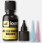 Loon Outdoors UV Colored Fly Finish - Brown