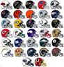 NFL Helm Sticker / Aufkleber - American Football - 8,5 x 6,5 cm - Alle Teams