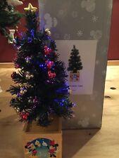 *VERY RARE* DISNEY VILLAGE MAIN STREET USA Fiber Optic TREE in ORIGINAL BOX
