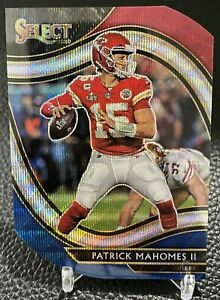 2020 Patrick Mahomes Kansas City Chiefs Field Level Tri-Color Prizm Die-Cut
