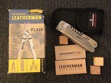 Rare Leatherman Multi Tool Flair NOS! Nylon Sheath Original Retired! Made In USA
