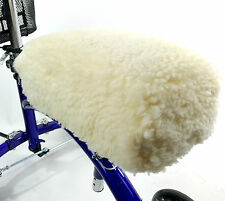 KneeRover Deluxe Faux Sheepskin Knee Walker Kneepad CoverThick Comfortable Pad