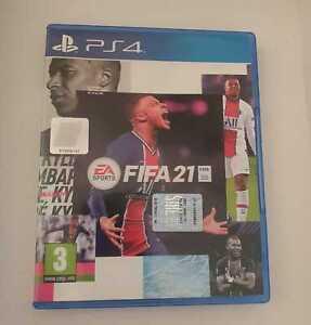 GIOCO FIFA 21 PS4 PLAYSTATION 4 ITALIANO CD USATO ORIGINALE