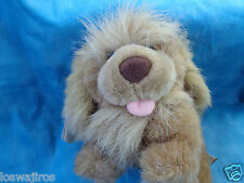 """The Heritage Collection Ganz 1989 Light Brown Shaggy Puppy Dog Plush 5 1/2"""""""