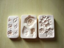 Amaco 3 Different Moulds
