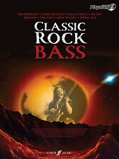Classic Rock Authentic Bass Playalong Rock Bass Tab Learn Play FABER Music BOOK