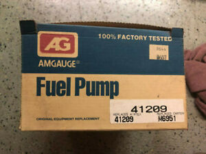 CarQuest Mechanical Fuel Pump 41209 For Buick Pontiac Chevrolet GMC 1977-1985