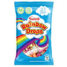 Small Rainbow Drops 10g Bags Swizzels Sweets Party Bags Candy 10 - 60 Full Box