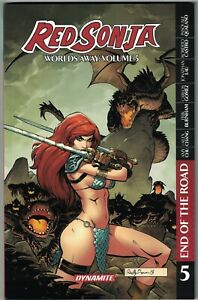 RED SONJA WORLDS AWAY Vol 5 End of the Road TP TPB $19.99srp Amy Chu #21-25 NEW
