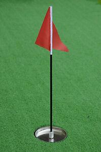 Mini Golf Pin Flag Replacement for Golf Putting Green Mat