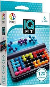 Smart Games IQ Fit - 120 challenges - 2D Brain Puzzler