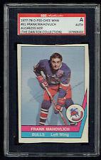 Frank Mahovlich signed autograph 1977-78 O-Pee-Chee Hockey WHA Card SGC 9fd214d68