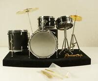 Vintage Small Drum Set Miniature Toy or Display Item
