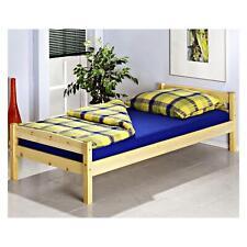 Einzelbett Bett Kinderbett Jugendbett Bettgestell Kiefer in 2 Farben 3 Größen