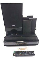 New listing Sony Blu-Ray Bdv-E300 6.1 Channel Home Cinema Speaker System W/Remote & Cables