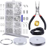 Schmuckherstellung Starter Kit Set Ohrring Halskette Reparatur Ornament Werkzeug