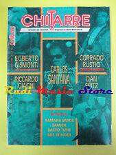rivista CHITARRE 45/1989 Carlos Santana egberto gismondi Corrado Rustici No cd