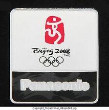 OLYMPIC PINS BEIJING 2008 PANASONIC SPONSOR LOGO BLACK