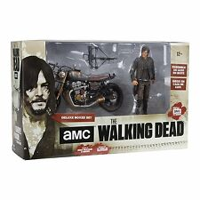 McFarlane Daryl Dixon Custom New Bike (Motorcycle 2) Deluxe Box The Walking Dead