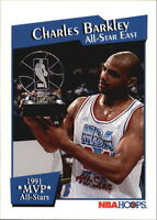 1991-92 NBA Hoops All-Star MVP's #12 Charles Barkley 76ers Suns Rockets Card