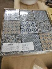 Komplettpaket Mosaikfliesen Kacheln Altbau Renovierung