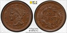 1854 PCGS MS62BN Large Cent with a TrueView (dw1005)