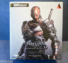 "Arkham Origins DEATHSTROKE Square Enix Play Arts Kai #1 DARK KNIGHT 11"" Figure"