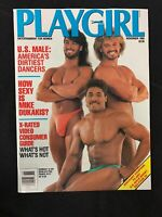 PLAYGIRL November 1988 JOHNNY DEPP Chippendale BOB COLANTONIO Steven Bauer