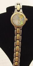 Disney Tinkerbell Watch Silver & Gold Tone