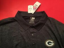 GREEN BAY PACKERS Men's XXL Polo Golf Shirt Gray TX3 Cool NFL 2XL Brand NEW NWT