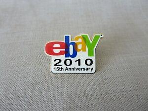 Rare New EBAY 15th Anniversary Pin Vintage Logo eBayana Brand New
