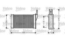 VALEO Radiador de calefacción FORD ESCORT SIERRA SCORPIO 812129