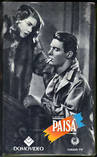 Paisà (1946) VHS rara ediz. DOMOVIDEO Logos TV - Cult