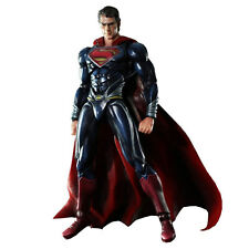 "SUPERMAN - Man of Steel 9.5"" Superman Play Arts Kai Action Figure #NEW"