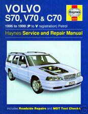 Haynes Manual Volvo S70 V70 & C70 1996-1999 NUEVO 3573