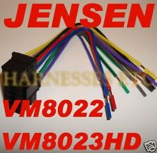 s l225 car audio and video wire harness for jensen ebay