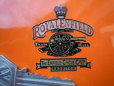 ROYAL ENFIELD GUN Headstock Style Motorcycle STICKER Classic Vintage Bike Bullet