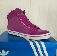 Adidas Originals Girls Womens Honey Buckle Purple Trainers - UK 5.5
