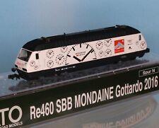 Planzer CAMION MB Gottardo//planzer RailCargo swissmodelle per la selezione NUOVO IN SCATOLA ORIGINALE