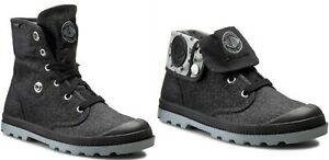Womens PALLADIUM Baggy High Low Combat Boots US 8 #21354