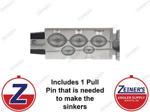 1173 New Do-It Egg Sinker Mold - 1, 2, 3, 4, 5 oz sizes