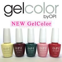 OPI GelColor 15ml/0.5fl.oz Gel Nail Polish PERU, LISBON, GREASE SoakOff Base Top