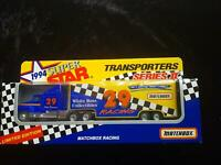 MATCHBOX SUPER STAR TRANSPORTERS Series II WHITE ROSE Phil Parsons - in BOX